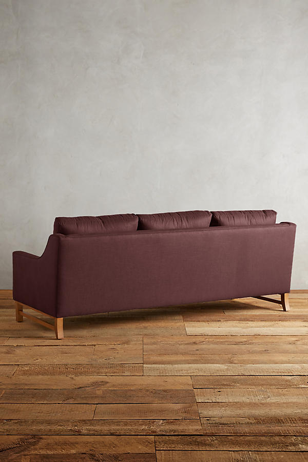 Slide View: 2: Linen Dorada Sofa