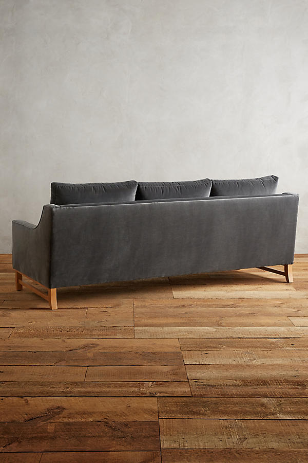 Slide View: 2: Velvet Dorada Sofa