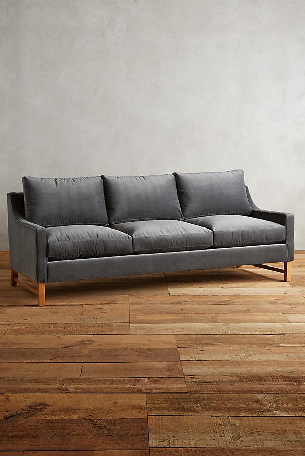 Slide View: 1: Velvet Dorada Sofa
