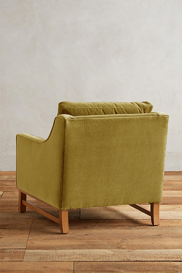 Slide View: 2: Velvet Dorada Chair