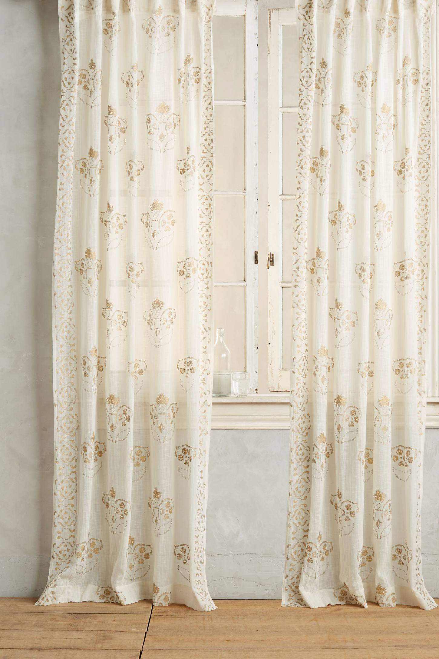 Slide View: 2: Gleaming Elora Curtain