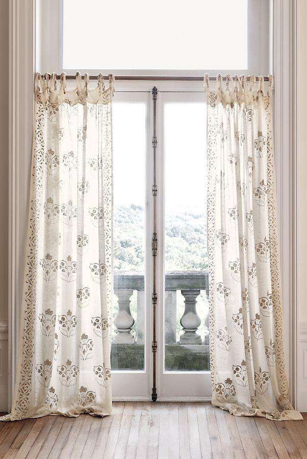 Slide View: 1: Gleaming Elora Curtain