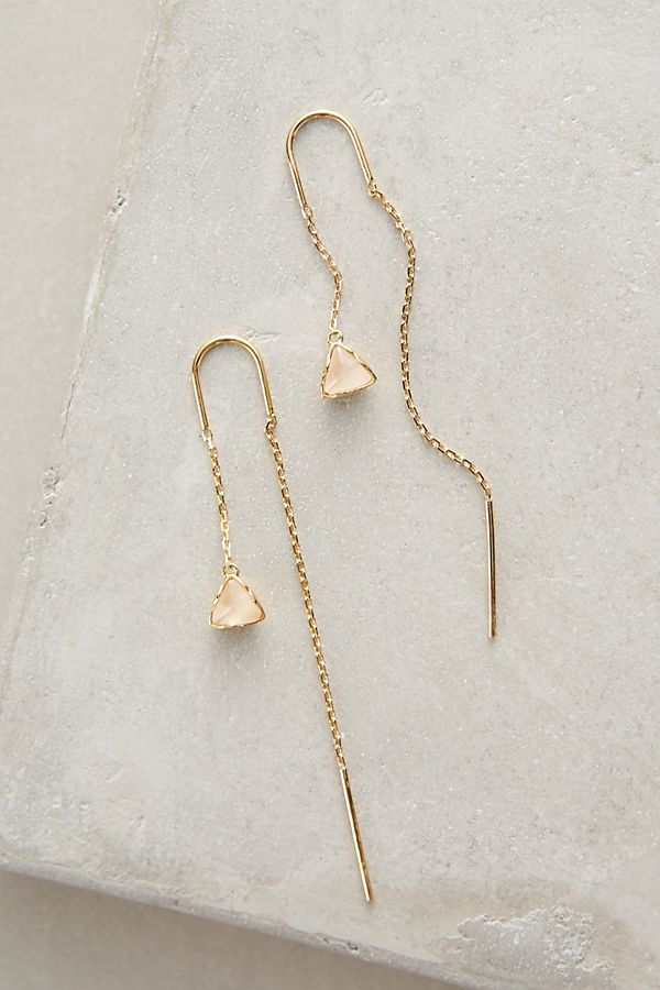 Pearblossom Threaded Earrings