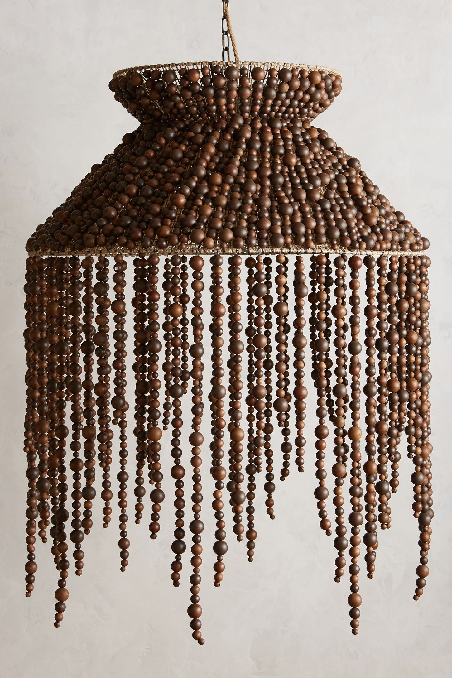 Hand beaded vara chandelier anthropologie mozeypictures Images