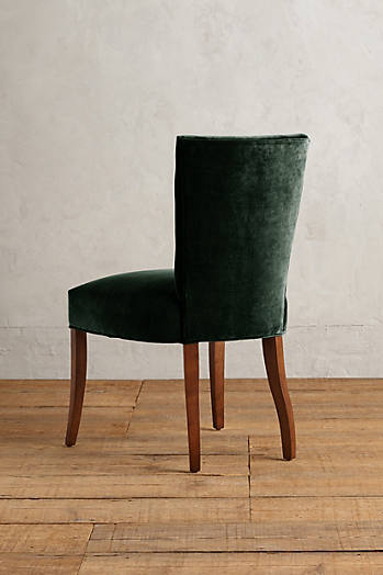 Slide View: 2: Velvet Abner Dining Chair