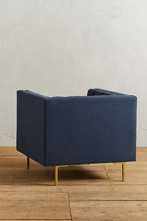 Slide View: 2: Linen Mina Chair