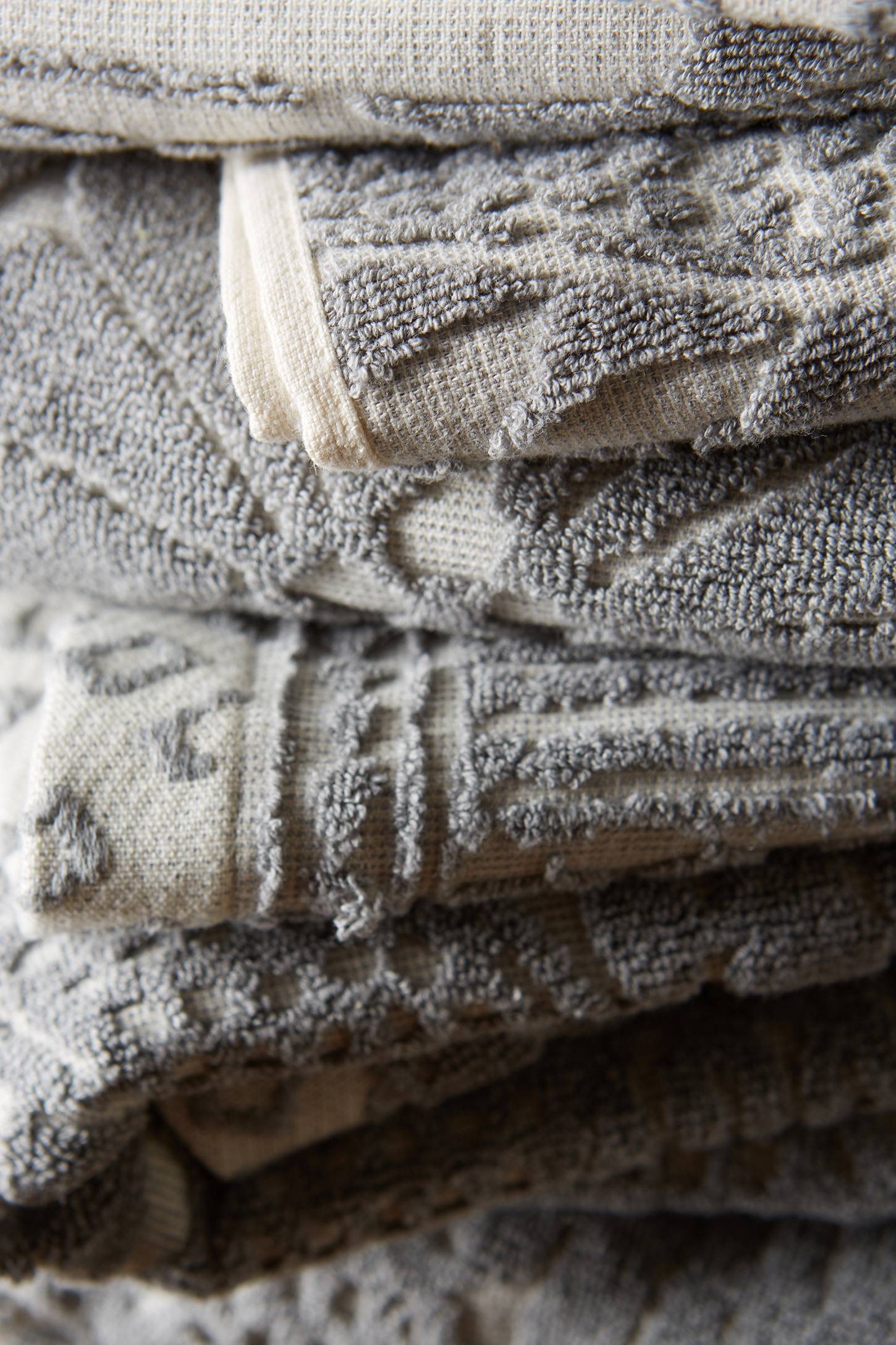 Slide View: 5: Stone Carvings Towel Collection