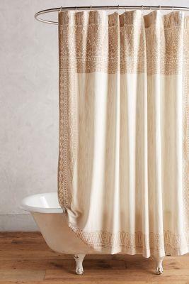 Curtains Ideas anthropology shower curtain : Misona Shower Curtain | Anthropologie
