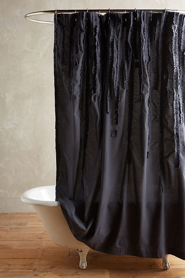 Draped Wisteria Shower Curtain