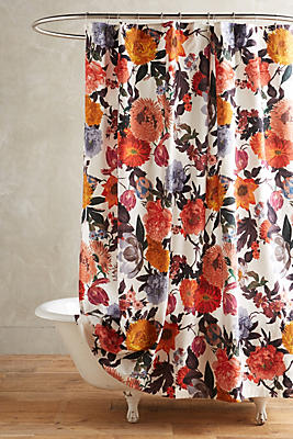 Agneta Shower Curtain Anthropologie