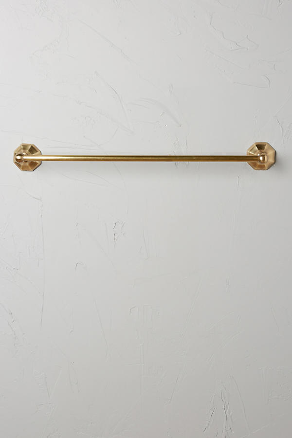 Slide View: 3: Brass Circlet Towel Bar