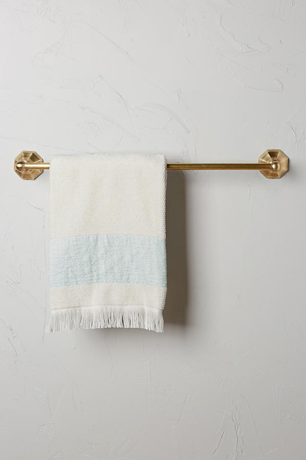 Brass Circlet Towel Bar