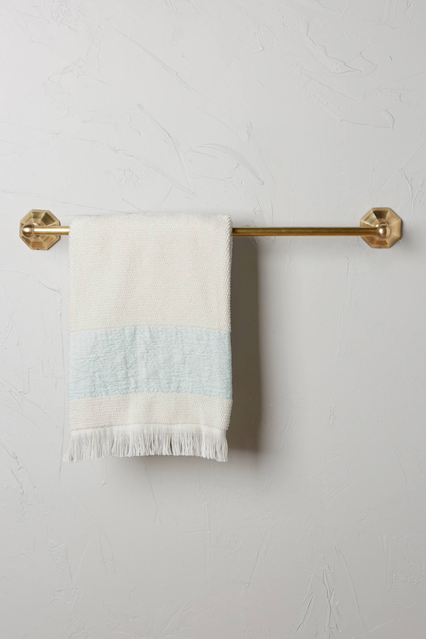 Slide View: 1: Brass Circlet Towel Bar