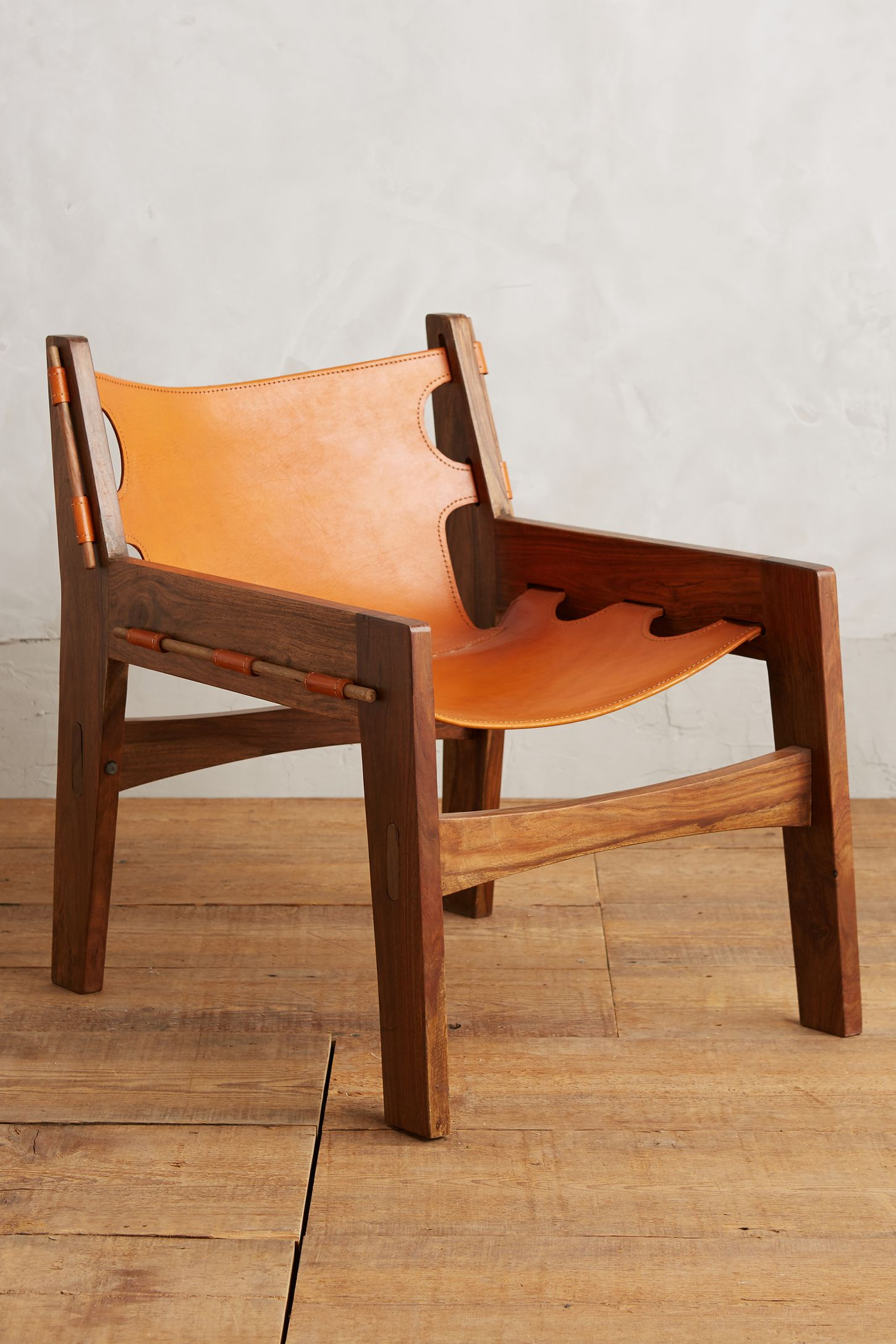 Leather sling chair - Leather Sling Chair 9