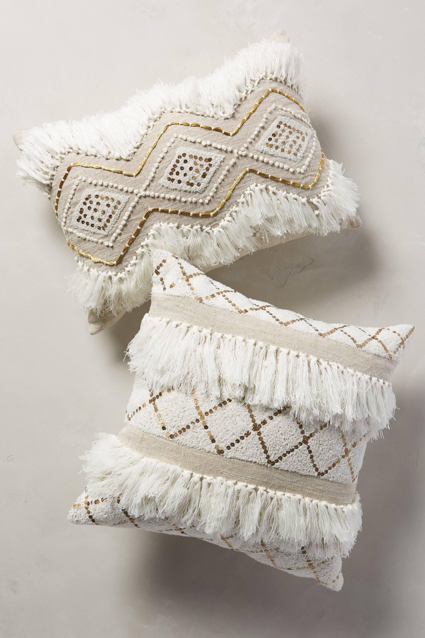 Moroccan Wedding Pillow Anthropologie