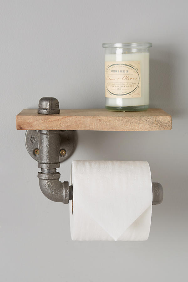 Slide View: 2: Pipework Toilet Paper Holder