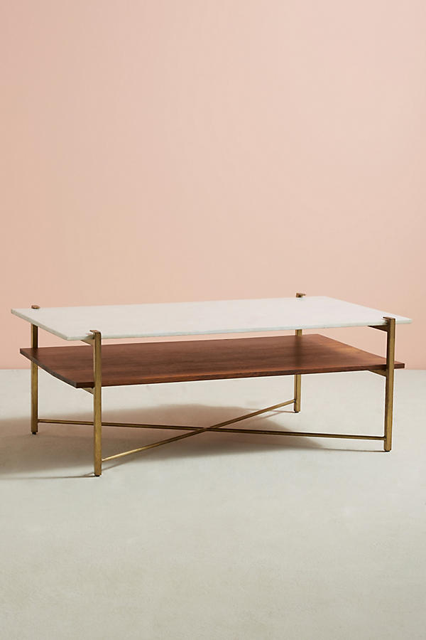 Slide View: 2: Elemental Layers Coffee Table