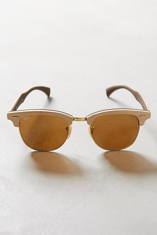 Ray-Ban Clubmaster Wood Sunglasses | Anthropologie