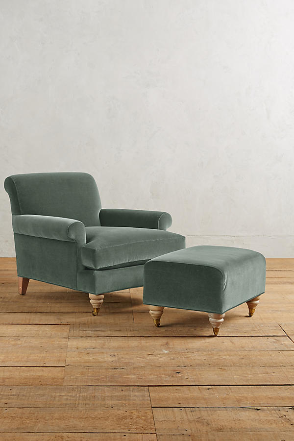 Velvet Willoughby Chair, Wilcox