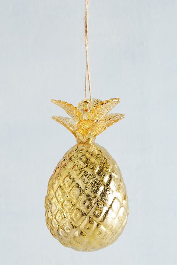 glass pineapple ornament