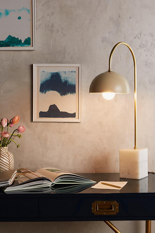 Slide View: 3: Winding Course Table Lamp