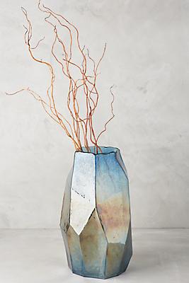 Iridescent Angles Vase