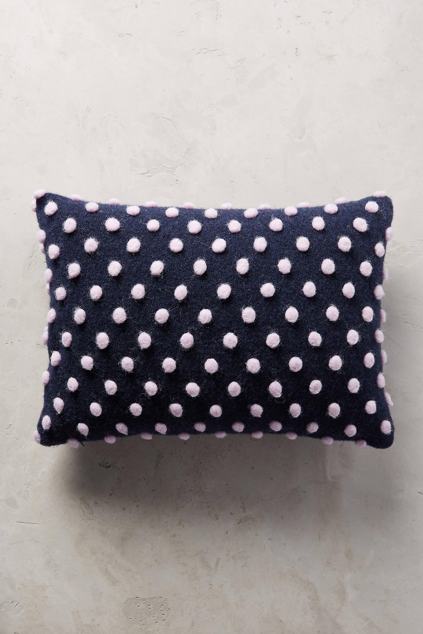 Woolen Pom Pillow