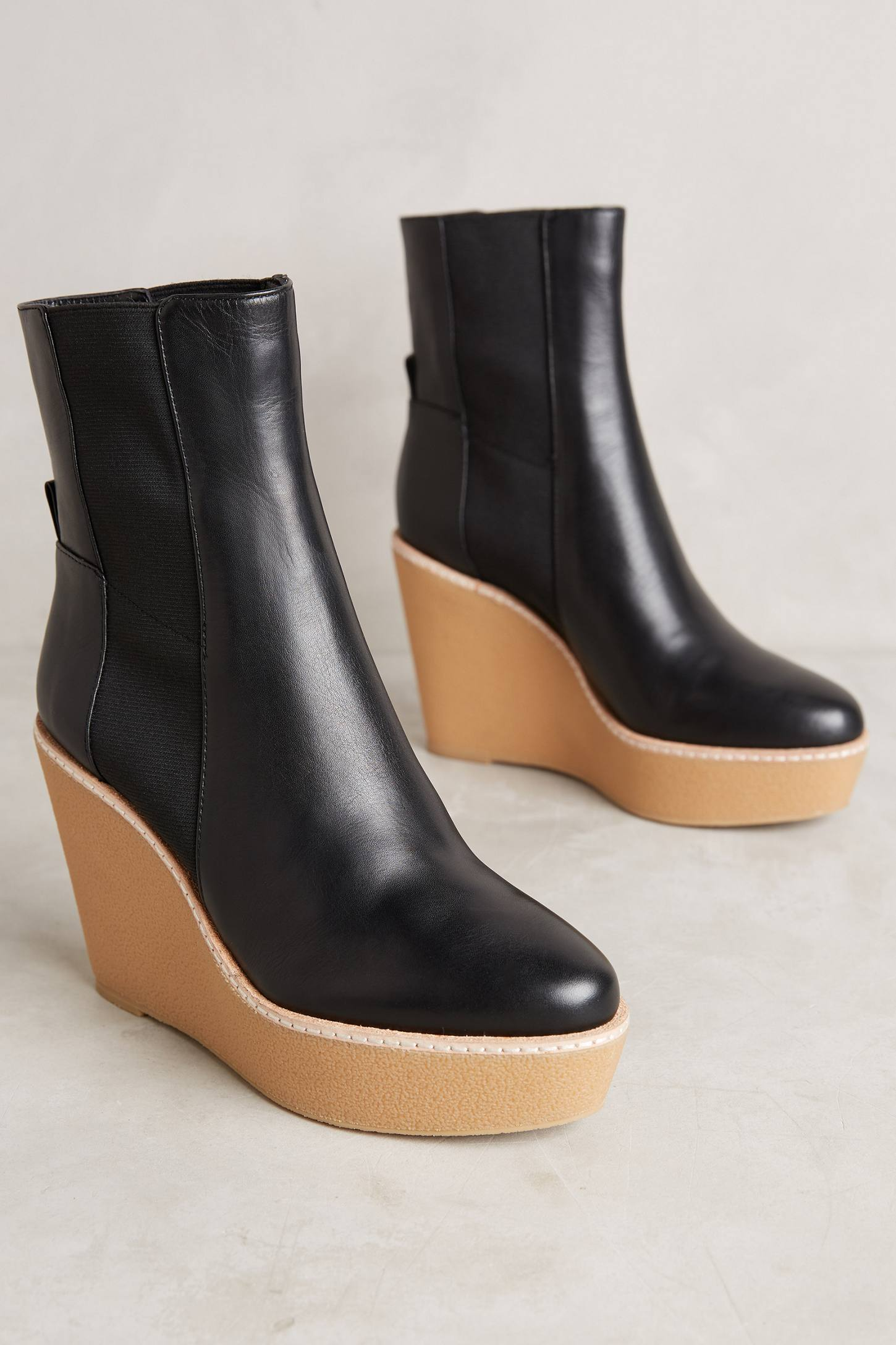 Derek Lam 10 Crosby Sandy Wedge Boots