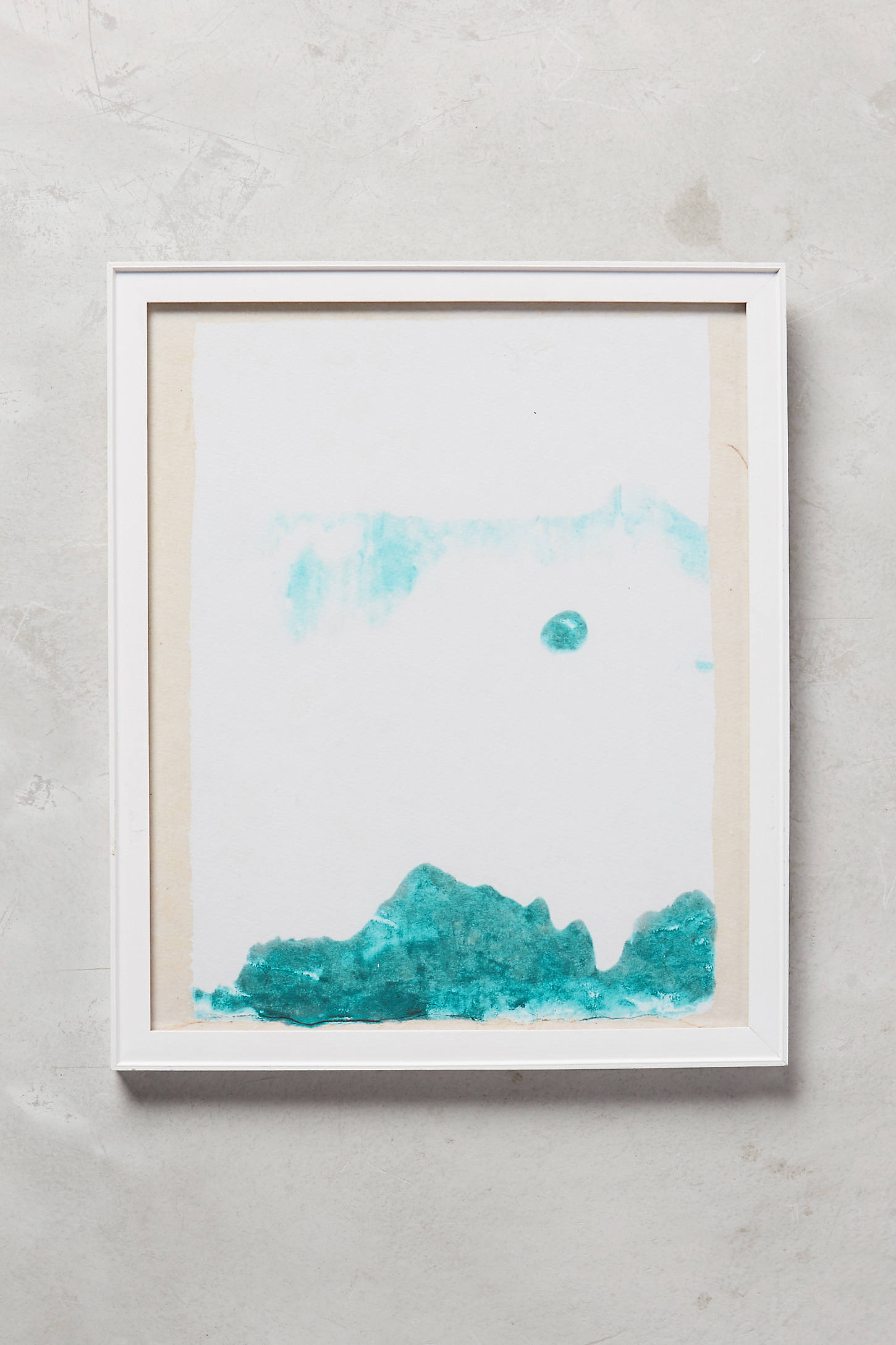 Abstracted Mountainscape Wall Art
