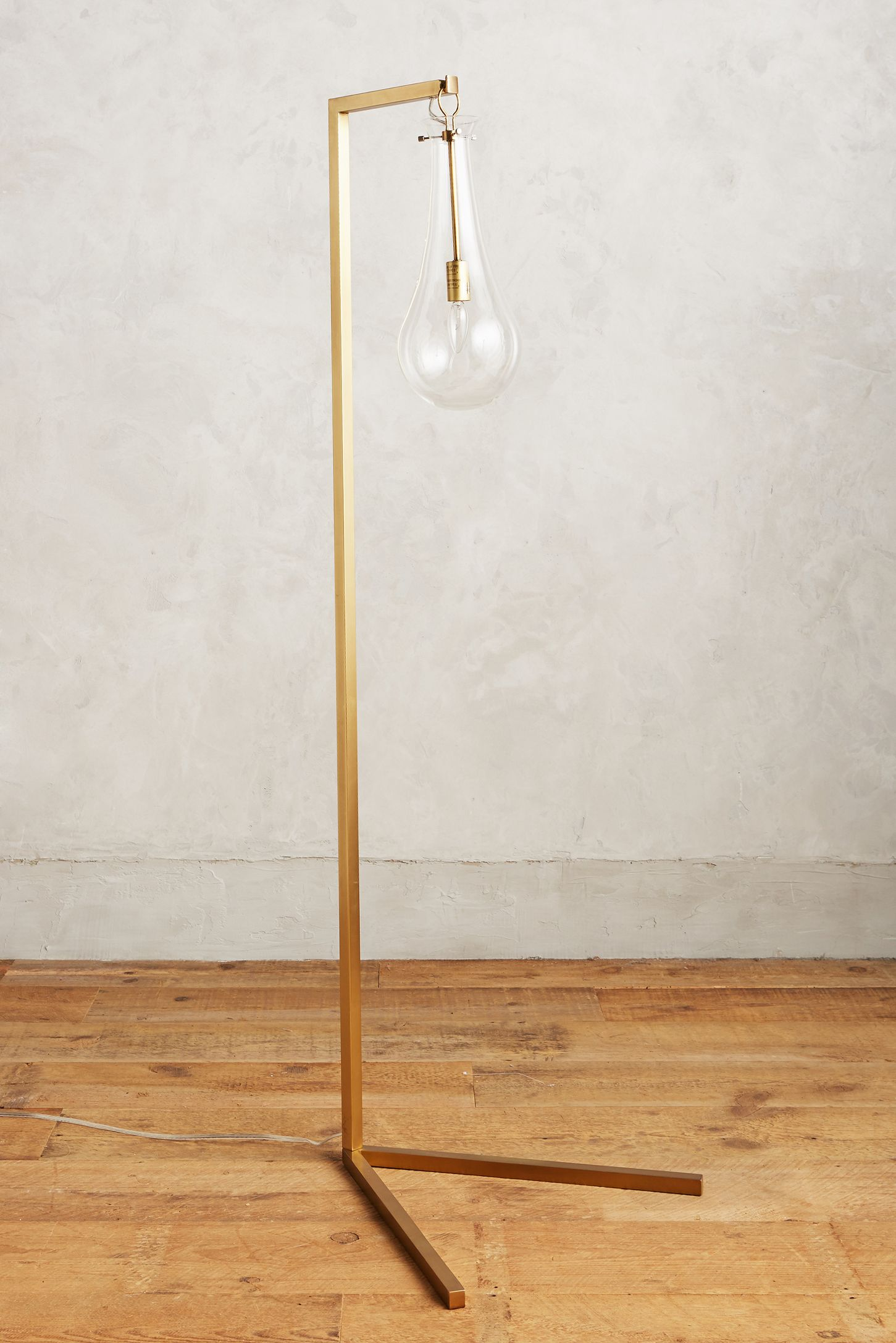 sabine floor lamp. gold  unique floor lamps  anthropologie
