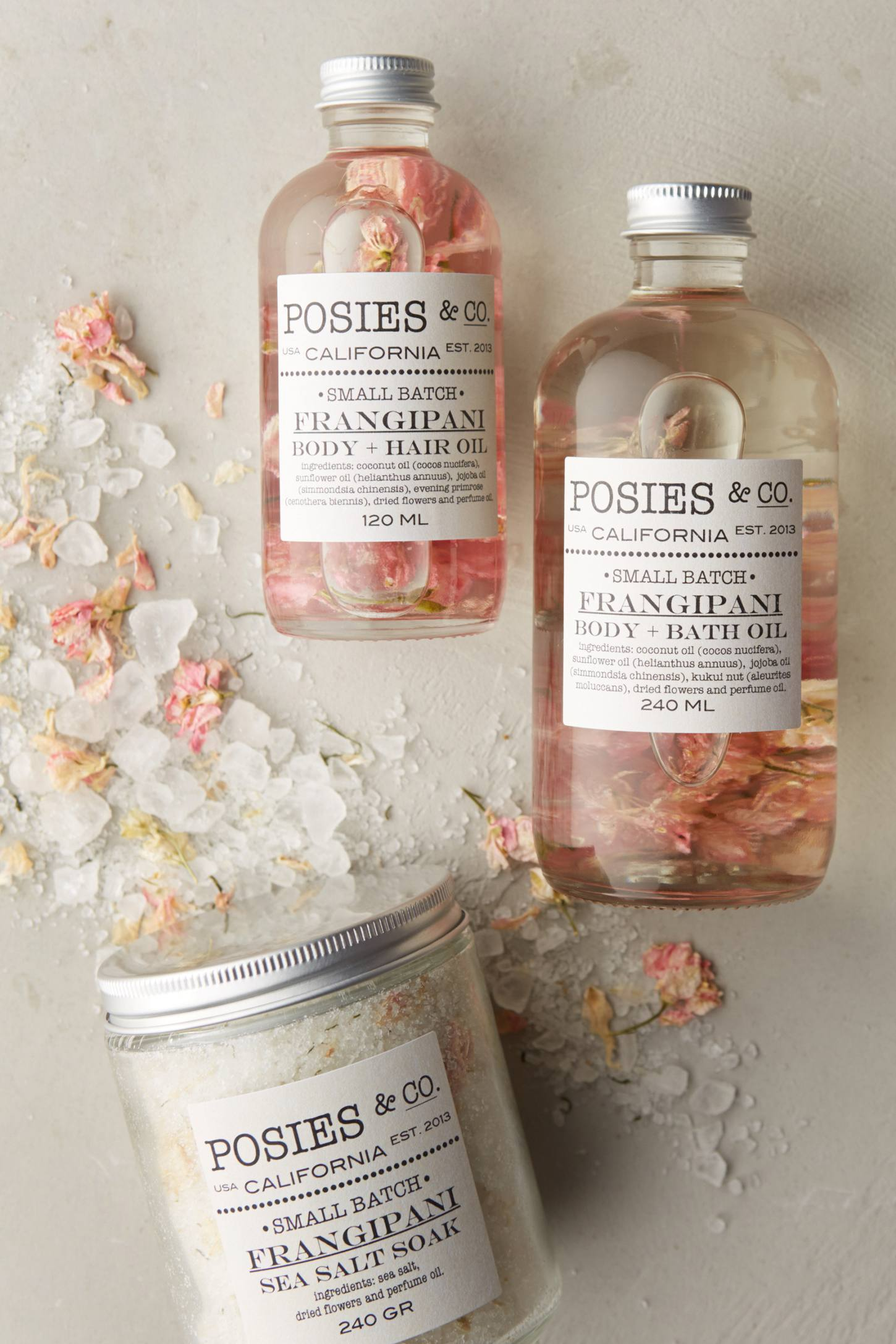 Slide View: 2: Posies & Co. Body & Hair Oil