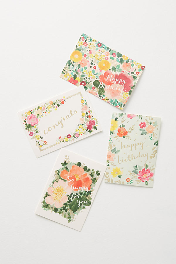 Slide View: 2: Fields Abloom Thank You Cards