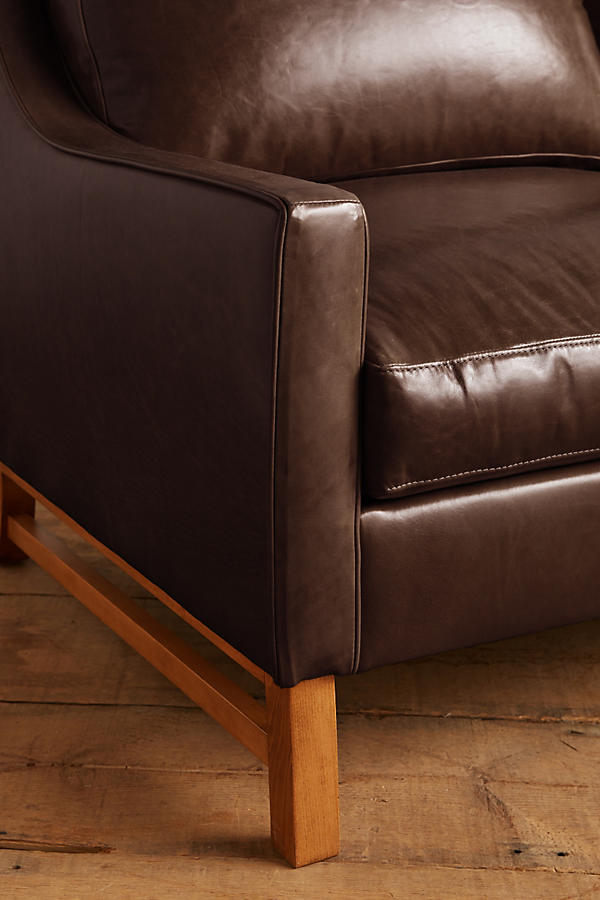 Slide View: 3: Premium Leather Dorada Sofa