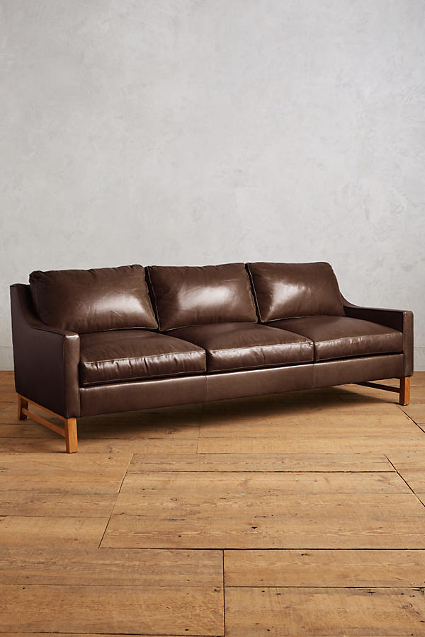 Slide View: 1: Premium Leather Dorada Sofa