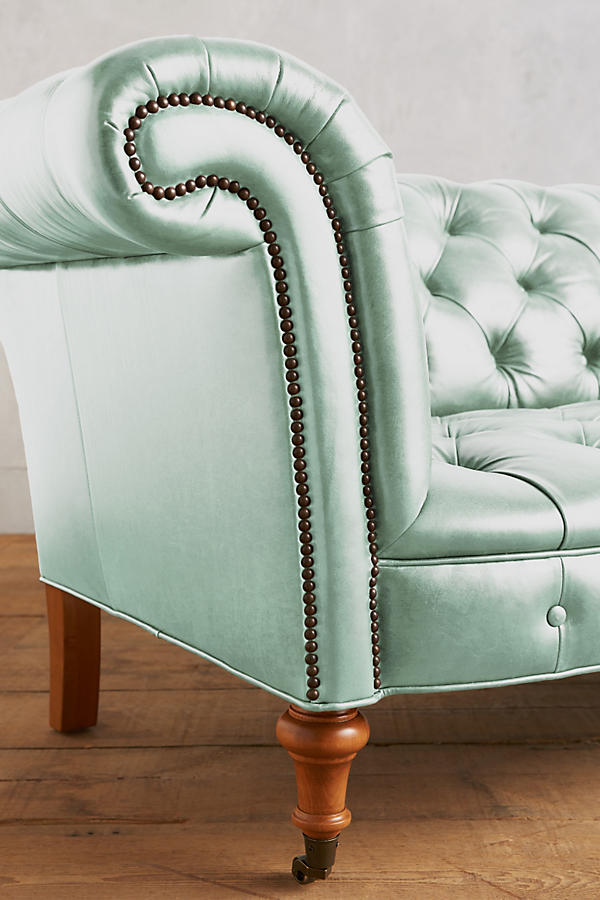 Slide View: 3: Premium Leather Olivette Sofa