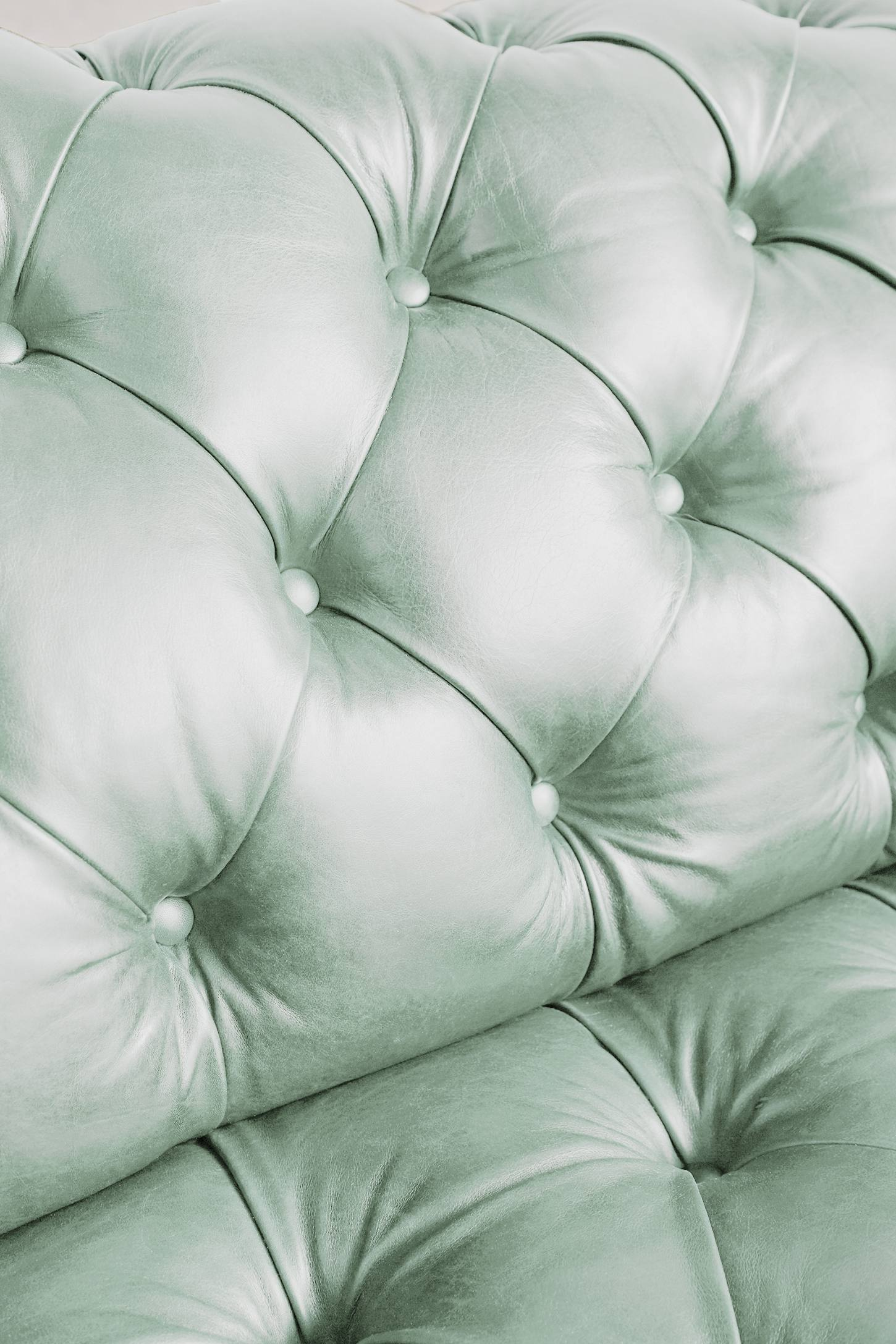 Slide View: 4: Premium Leather Olivette Sofa