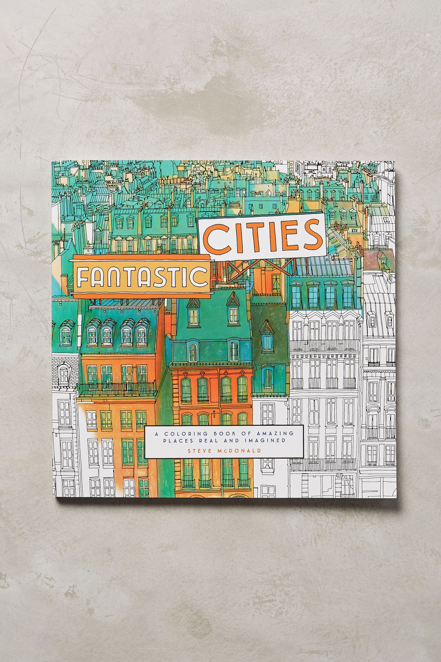 Fantastic Cities Coloring Book Tap Image To Zoom Hover Your Mouse Over An Double