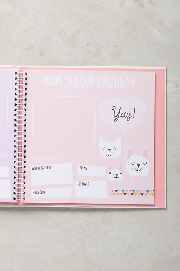Slide View: 3: Baby's First Year Journal
