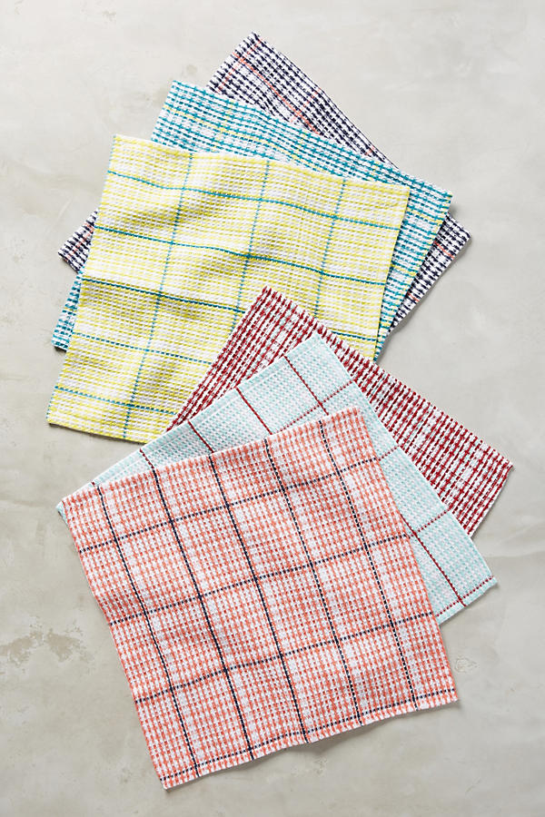 Slide View: 2: Tartan Dishtowel Set