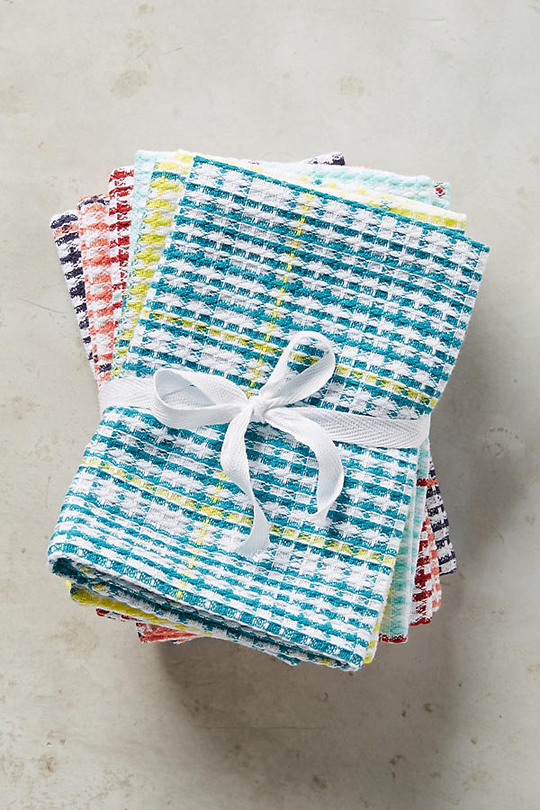 Slide View: 1: Tartan Dishtowel Set
