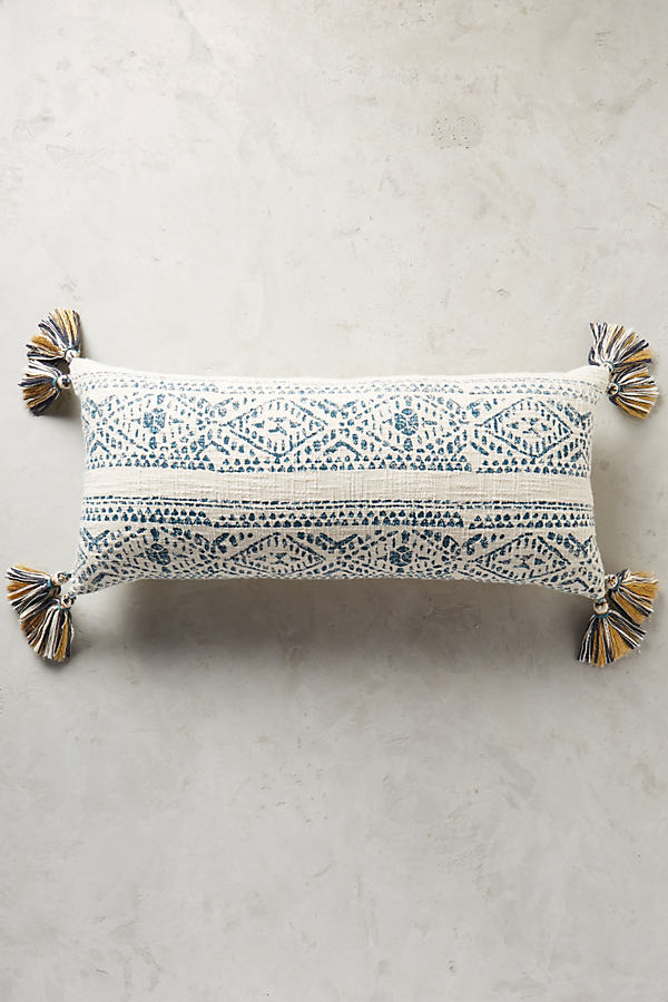 Parra Cushion - Blue, Size L