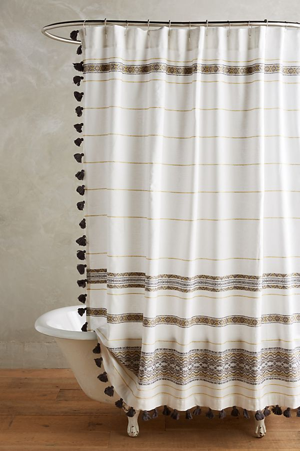 with hem shower navy and white striped dark forever ruffle curtain stripes