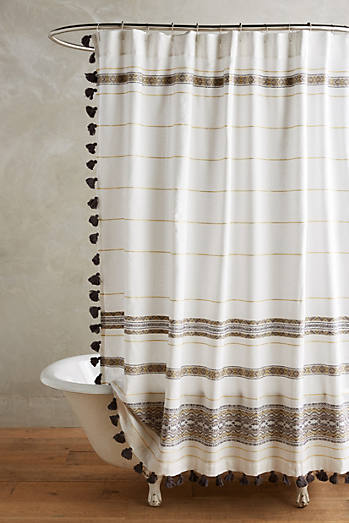 Diamanta Striped Shower Curtain