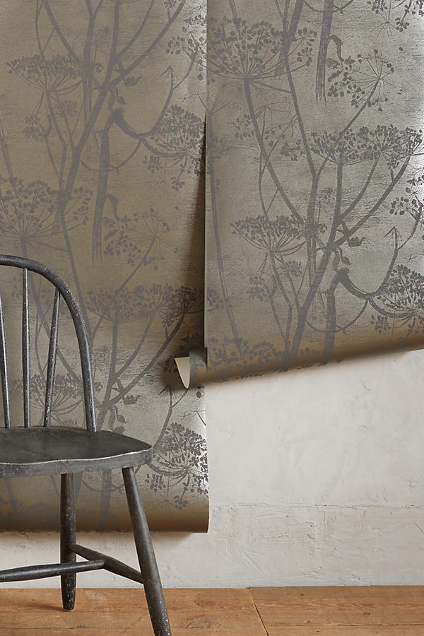 Slide View: 2: Queen Anne's Lace Wallpaper