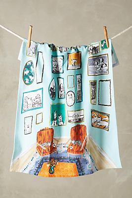 Slide View: 1: Post-Impressionism Tea Towel