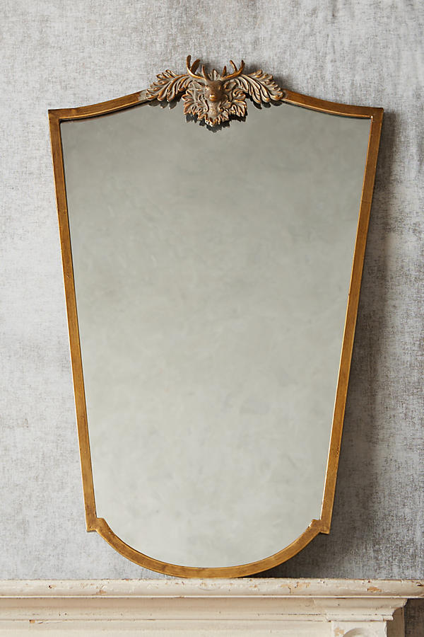 Slide View: 8: Wooded Manor Mirror