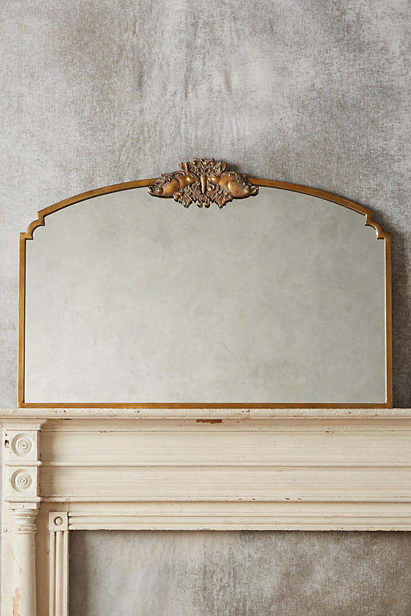 Slide View: 9: Wooded Manor Mirror