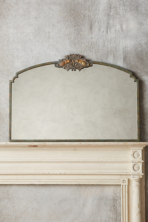 Rabbit Wooded Manor Mirror - Green, Size M
