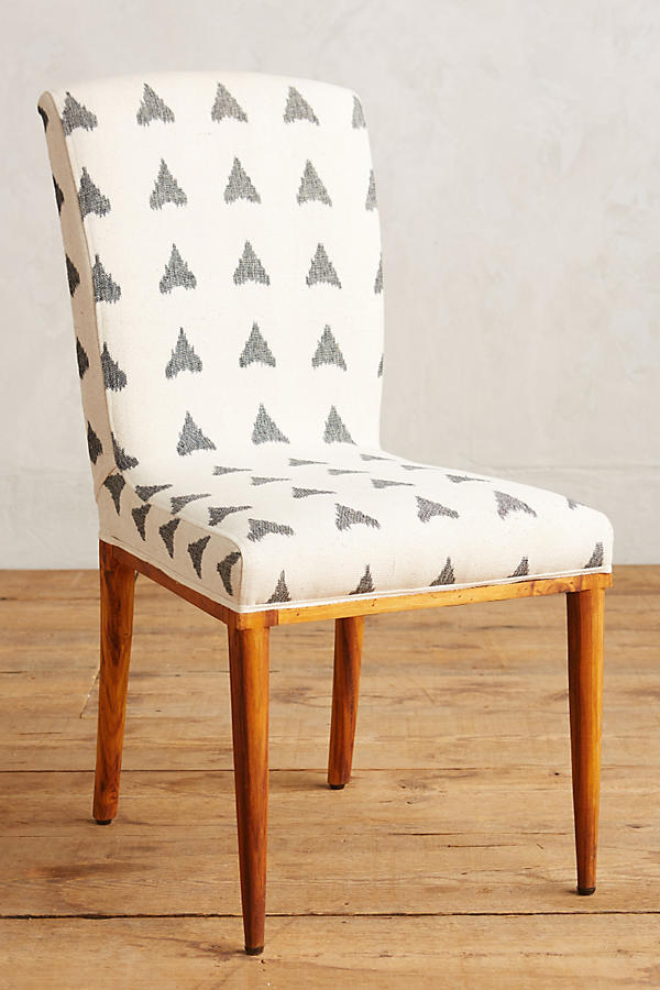 Elza Ikat Dining Chair Anthropologie