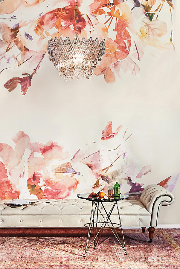 Betelline side table anthropologie for Anthropologie wall mural
